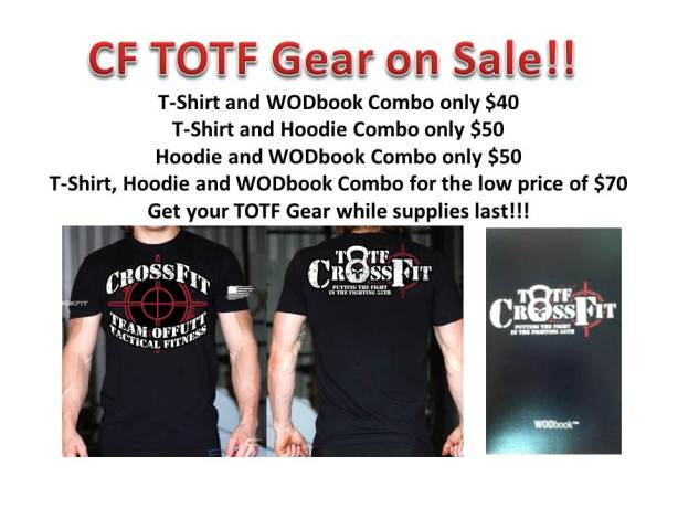 TOTF Gear Sale
