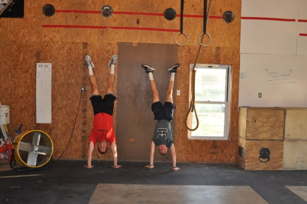 Dad and Christian doing handstands (6)