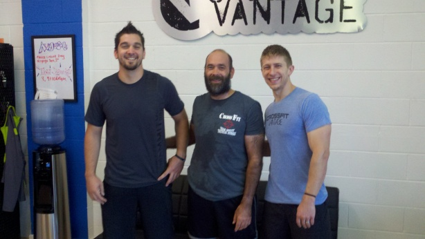 JP at CrossFit Vantage