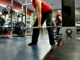 one arm deadlift
