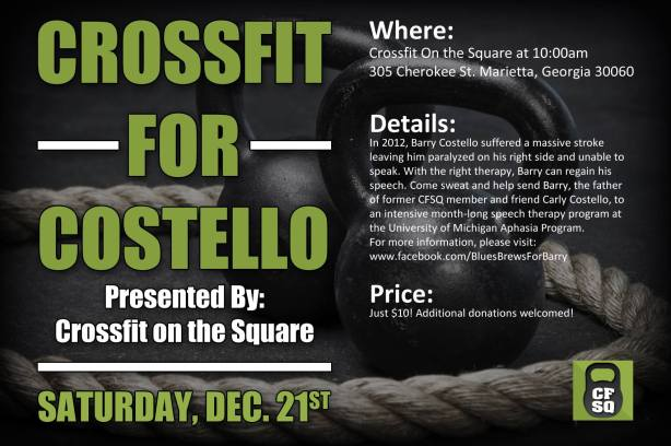CrossFit For Costello