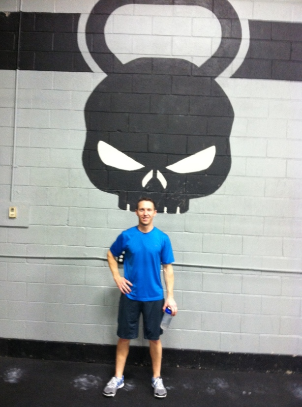 Ben Burdette at CrossFit Maximus