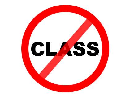 no-classes