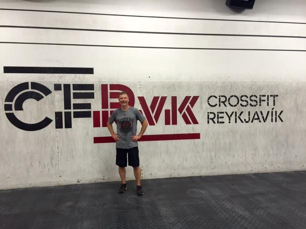 Trey Hadaway CF Reykjavik
